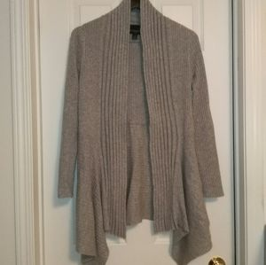 Cynthia Rowley open front ribbed cardigan